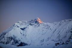 Mountain inspirational landscape, Annapurna range Nepal Kuvituskuvat