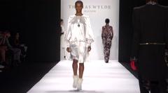 Thomas Wylde Maison Fashion Show Fall 2015 Collection NYFW 03 Stock Footage