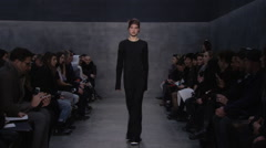 Vera Wang Fashion Show Fall 2015 Collection NYFW Stock Footage