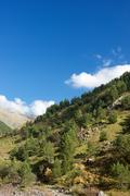 Pyrenees - stock photo