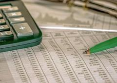 Balancing The Accounts Financial Analyzing Stock Photos