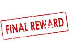 Final reward - stock illustration