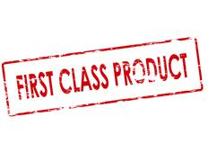First class product Stock Illustration