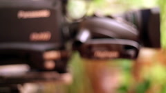 TV Camera ,Lens - stock footage