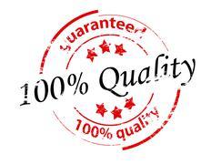 Guaranteed quality Stock Illustration