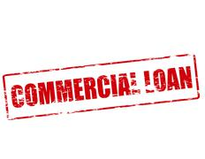 Commercial loan Stock Illustration