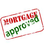 Mortgage approved Stock Illustration