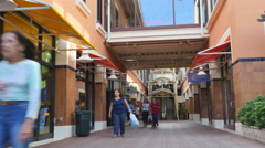 Shops at Bayside Miami - stock footage