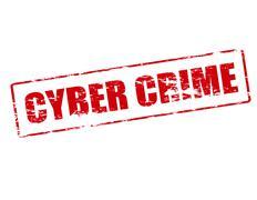 Cyber crime Stock Illustration