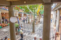 Stock Photo of Market hall, Funchal, Madeira