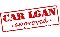 Car loan approved Stock Illustration