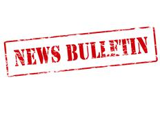 Stock Illustration of News bulletin