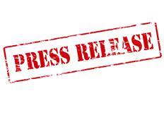 Press release - stock illustration