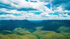 The Blue Mountains Australia Stock Footage