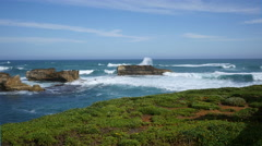 Australia Great Ocean Road Bay of Martyrs Stock Footage