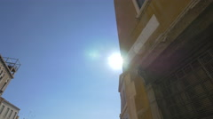 Chiesa dei Santi Gervasio e Protasio seen on a sunny day in Venice Stock Footage