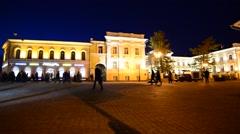Nizhny Novgorod, Russia,. Bolshaya Pokrovskaya - main pedestrian - stock footage