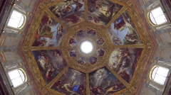 ULTRA HD 4K real time shot,The Basilica of San Lorenzo in Florence Stock Footage