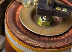 Electrical transformer - stock photo