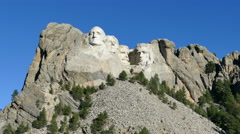 Mount Rushmore National Memorial in 4k Stock Footage