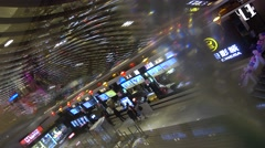 Ticket hall in the cinema,chinese film industry bubble Stock Footage