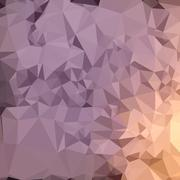 Stock Illustration of Amethyst Blue Orange Abstract Low Polygon Background