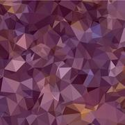 Antique Fuchsia Purple Abstract Low Polygon Background - stock illustration