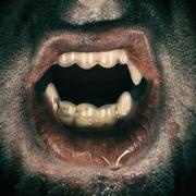 Vampire Mouth Stock Photos