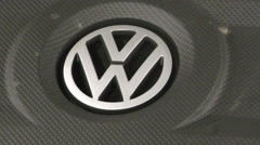 Volkswagen engine Stock Footage