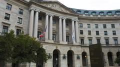 Us epa building washington Stock Footage