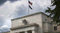Federal reserve close up Stock Footage