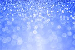 Stock Photo of Blue Glitter Sparkle Winter Background