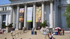 National Museum of Natural History in Washington, United States Stock Footage