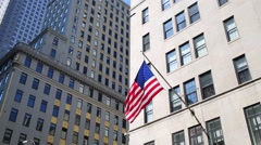 Flag on shop. In 1906 jewelry house Van Cleef and Arpels opened Stock Footage