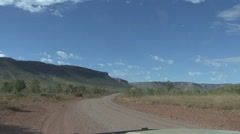 Jeep drive through the Kimberleys 1 Stock Footage