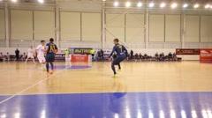 Russian championship of indoor football game Mytishchi - Gazprom Ugra Arkistovideo