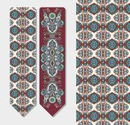 Stock Illustration of decorative ethnic paisley bookmark for printing