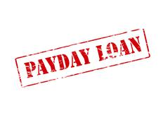 Payday loan Stock Illustration
