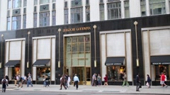 Fifth Avenue. New York is composed of many Street and Avenue - stock footage