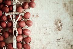 Stock Photo of Catholic rosary