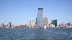 New York. In 2014 in New York tourism brought economy 61.3 billion dollars Stock Footage