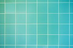 turquoise wall background - stock photo
