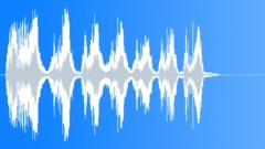 Cartoon fast jumping pain scream - sound effect