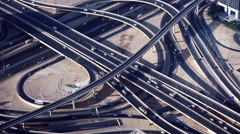4K Time Lapse of Road Traffic Highway - stock footage