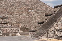 Teotihuacan Pyramids. Mexico. - stock photo