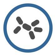 Bacilli Circled Vector Icon - stock illustration