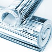 Rolled up magazines Stock Photos