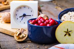 Stock Photo of healthy breakfast