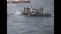 Vintage 16mm film, 1970, Japan, Ama pearl divers, Mikimoto #2 - stock footage