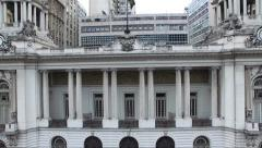 Rio de Janeiro City Hall, Brazil Stock Footage